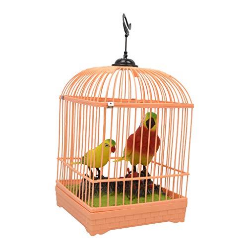 Fenteer Elektrische Sprechend Papagei Vogel Spielzeug Kinder Geschenk Deko Für Haus, Wohnzimmer, Büro usw. - Mehrfarbig C