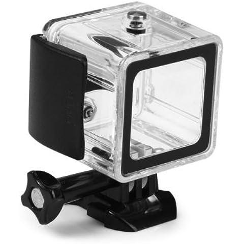 Shoot® Emall supply–Carcasa subacuática Carcasa Case Funda para GoPro 4Session Cámara de acción HD cámara vídeo