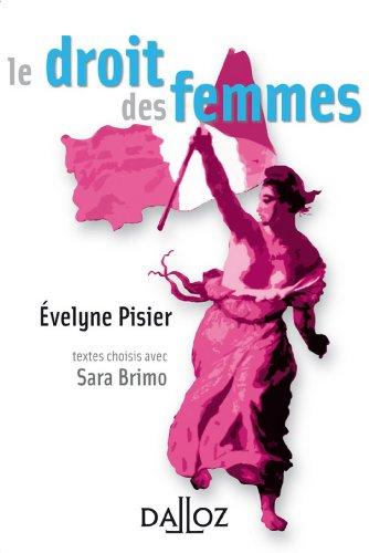 Le droit des femmes (À savoir) par Évelyne Pisier