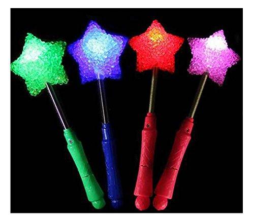 ken, Glow Stick Party Gefälligkeiten, Sterne [Mehrfarbig] (Glow Stick In Bulk)