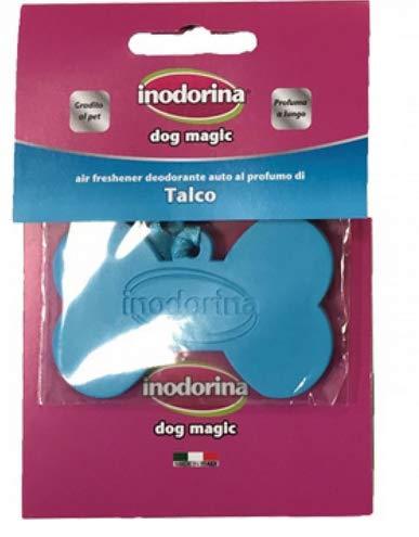 Inodorina Deodorante Dog Magic 1 Deodorante per auto e piccoli ambienti fragranza Talco lunga durat