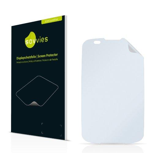 Savvies SC50 Displayschutzfolie passend für LG Electronics P500 Optimus One Schutzfolie Folie