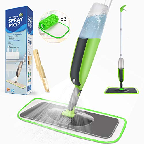 Tencoz Spray Mop Fregona vaporizador Integrado