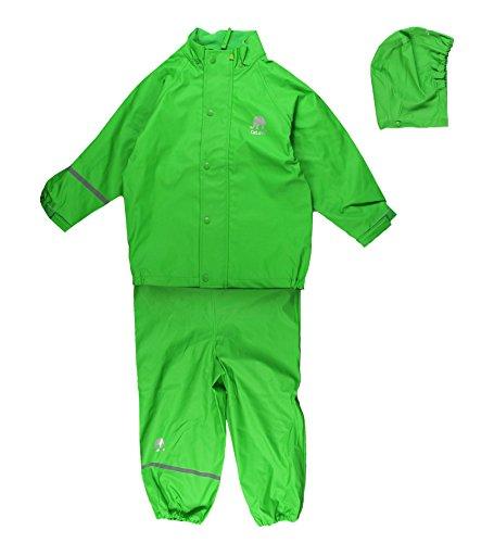 Celavi Kinder Unisex Regen Anzug, Jacke und Hose, -
