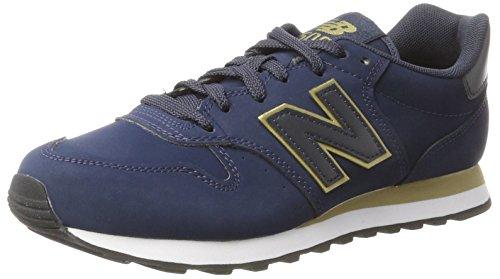 New balance 500, sneaker donna, blu (blue), 38 eu