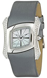 Pierre Cardin Papillon - Reloj analógico de cuarzo para mujer, correa de cuero, Swiss Made