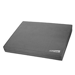 Apollo Balance Pad Koordinationsmatte 48,5x38x6cm für Fitness, Yoga und Pilates Farben: anthrazit