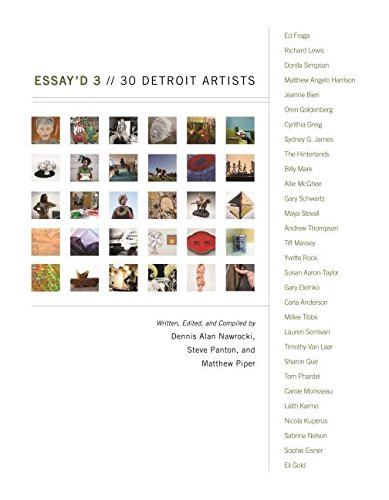 Essay'd 3: 30 Detroit Artists (Painted Turtle)