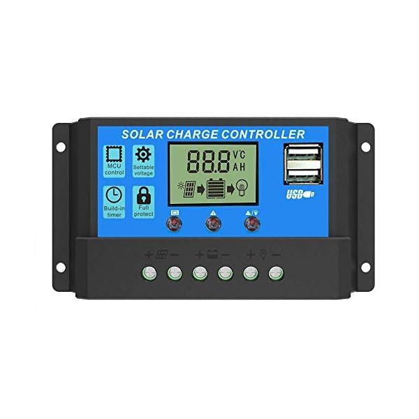 24V Regolatore del caricabatteria del pannello solare del regolatore del caricatore del pannello solare 12V