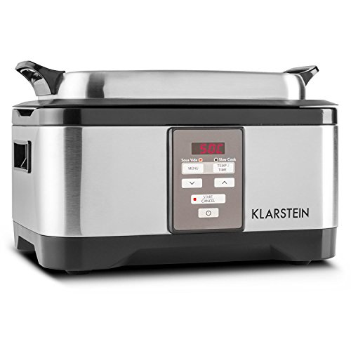 Klarstein Tastemaker olla de cocción lenta (cocinado al vacío profesional, 550 W,...