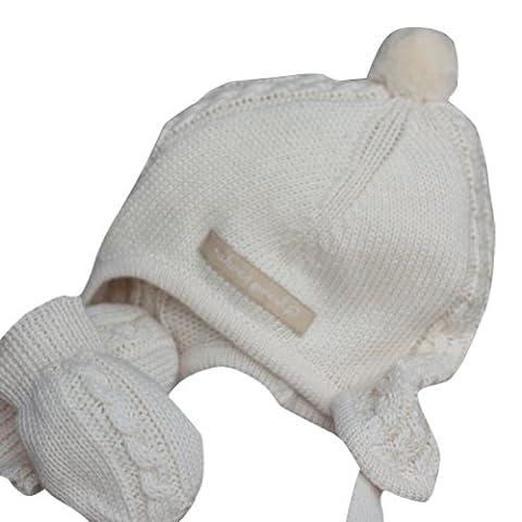 Natures Purest - Chapeau - Bébé (garçon) 0 à 24 mois natural creme 6-12 mois