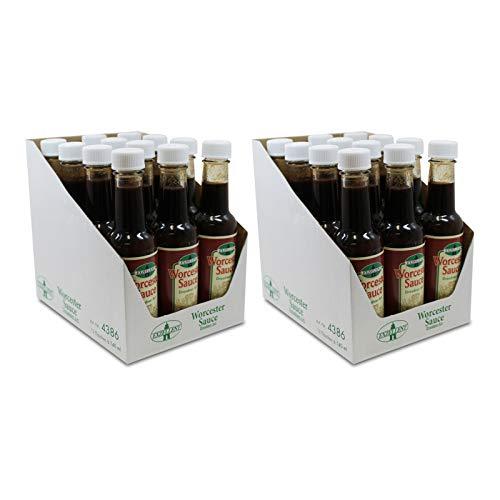 24er Pack Exzellent Worcester Sauce Dresdner Art (24 x 140 ml)