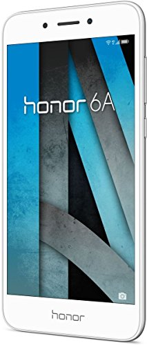 Honor 6A Smartphone (12,70 cm (5 Zoll) HD Display, 16 GB Speicher, Android 7.0) silber (Smartphone Huawei Android)