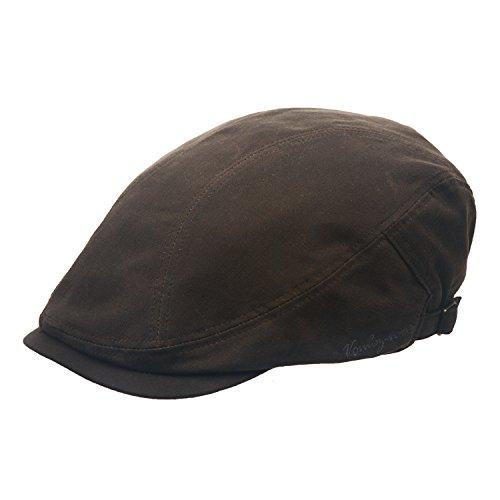 Voulez-vous Herren Schirmmütze Gr. Medium, khaki (Harris Herren Tweed Vintage)