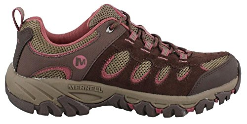 Merrell Ridgepass Hiking Shoe Espresso/Blushing