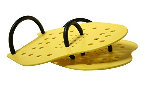 Malmsten SwimPower handpaddeln M gelb Preisvergleich