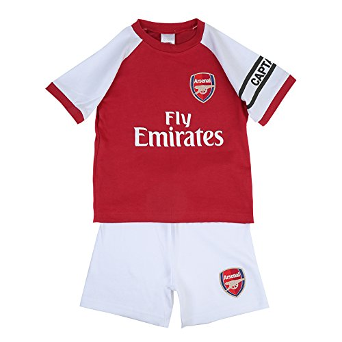 12b0fba1f Arsenal FC Official Football Gift Home Kit Baby T-Shirt   Shorts