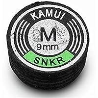 Kamui - Punta de snoker, color negro, disponible en varios tamaños y densidades S2026, MEDIUM HARD, 11 mm