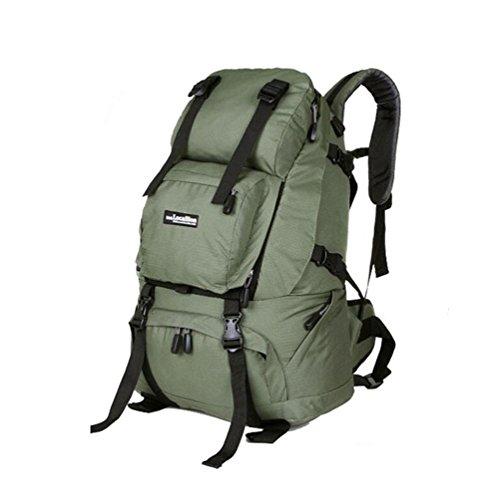 Wmshpeds Outdoor travel borsa a tracolla femmina alpinismo viaggio borsa zaino camouflage maschio 40L bagagli E