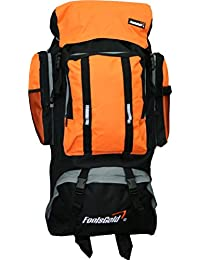 foolsGold Extra Large Hiking Travel Backpack Camping Rucksack Top and Bottom  Loading db5f982d023c7