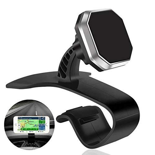 Kimmyer Handy-Autohalterung Universal 360 drehbare Autotelefonhalterung für Armaturenbretthalterung, geeignet für iPhone, Samsung, Android-Smartphone, GPS.