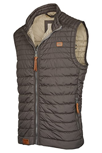 camel active Herren Outdoor Weste Grau (Grey 06)