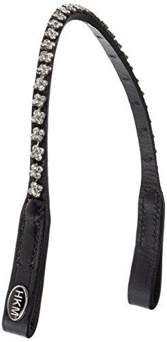 HKM SPORTS EQUIPMENT GmbH Stirnband -Dilara Sattel- & Zaumzeug, schwarz, One Size -