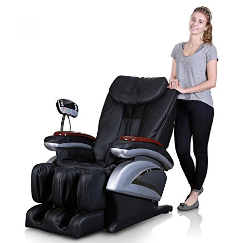 KosmoCare Shiatsu Massage Chair for Full Body Massage- Black