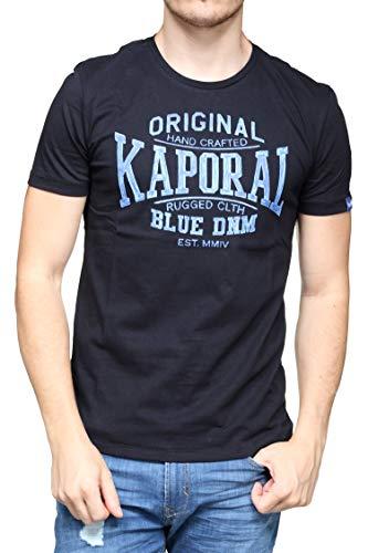 Kaporal Brisk, T-Shirt Homme, Noir (Black),2XL