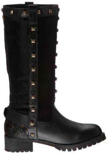 Lollipops Patchwork High Boots, Bottines femme Noir (Black)