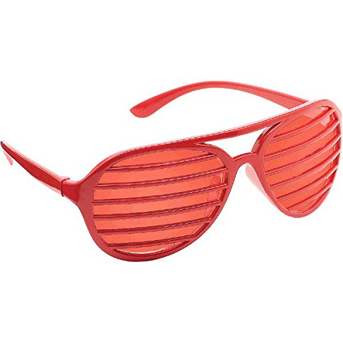 Amscan Shutter Shades (Red)