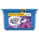 Lenor 3-in-1 PODS Colorwaschmittel Amethyst Blütentraum, für Reinheit, Frische und Weichheit, 54 Waschladungen