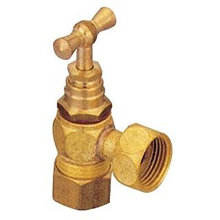 ALTech 4000019001 Stopcock Short Toilet 12 x 17 mm Brass