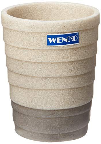 Wenko 21293100 Cuzco Gobelet à Dents Dimensions 8 x 8 x 10 cm