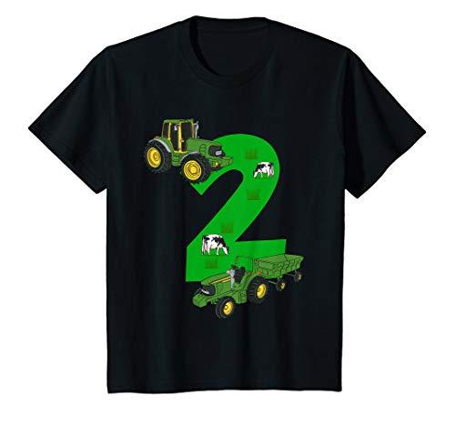 Kinder Geburtstagsshirt 2 Jahre Traktor Trecker 2. Geburtstag (Shirt Geburtstag Traktor 2.)
