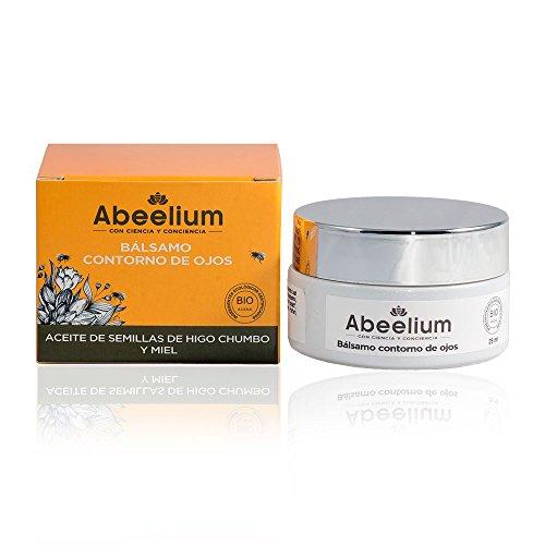 Abeelium | Contorno de Ojos Antiarrugas y Anti Edad | Producto Natural y Ecológico - Hecho en España - 25 ml