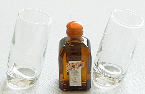 pair-of-ludico-tilted-shot-glasses60ml-with-cointreau-triple-sec-orange-liqueur-5cl-miniature