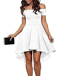d4a205ad91ac Suchergebnis auf Amazon.de für: asymmetrisches kleid - Weiß: Bekleidung