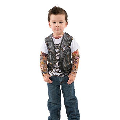 Kinder T-Shirt Tattoo Ärmel