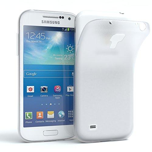 Samsung Galaxy S4 mini Schutzhülle Silikon, matt & ultra dünn I von EAZY CASE I Slimcover, Handyhülle, Hülle / Soft Case, Silikonhülle, Backcover, Transparent