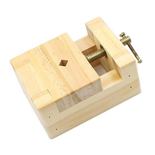 Fenteer Holz Tisch Bank Schraubstock Mini Tisch Schraubstock für Schmuck, Uhren, Hobby, Modellbau
