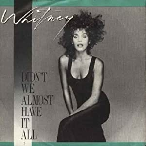 Whitney Houston - The Greatest Hits CD1 (Cool Down)