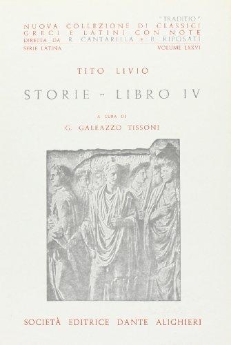 Storie. Libro 4°