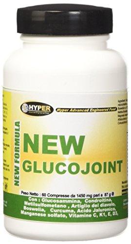 Glucosamina Coindroitina Msm Artiglio del Diavolo Curcuma Dolori Articolari Artrosi - 60 Compresse New Glucojoint