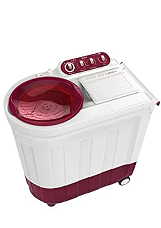 Whirlpool Ace 8.5 Turbodry Semi-automatic Top-loading Washing Machine (8.5 Kg, Coral Red)