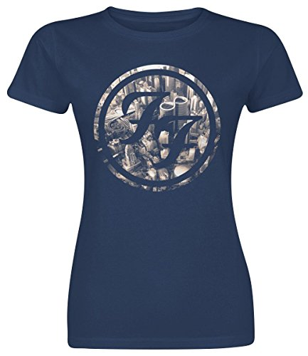 Foo Fighters Sonic Highways Maglia donna blu XL