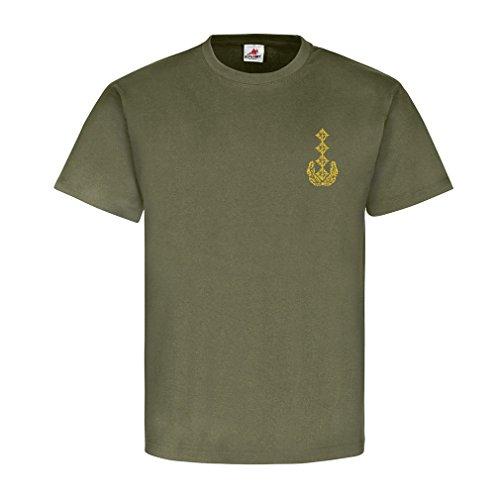 General Dienstgrad Bundeswehr BW Abzeichen Schulterklappe - T Shirt #15910, Farbe:Oliv, Größe:Herren M
