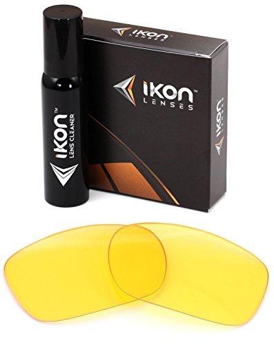 Polarisierte Ikon Ersatz Linsen für Oakley Twoface-mehrere Möglichkeiten, Herren, HD Yellow