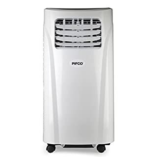 Pifco P41008 3-in-1 Portable Air Conditioning Unit with Remote Control for Home and Office, White