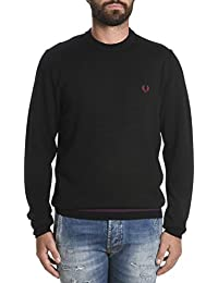 Fred Perry Homme FPSK8091102 Noir Coton Maille